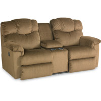 Lancer Power La Z Time 174 Loveseat With Middle Console